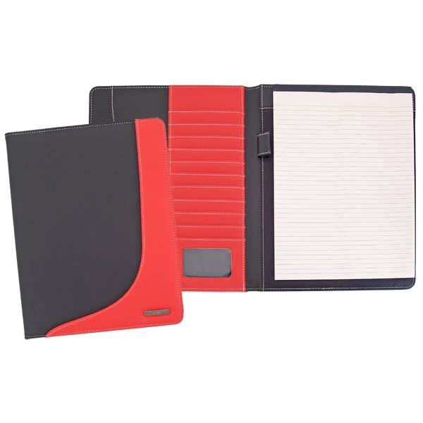 Анонс-изображение товара папка index с блокнотом, pvc, комбинированная, черно-красная, разм.32 х 24 см, ipf250bk/rd