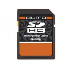 Карта памяти QUMO SecureDigital 8Gb QM8GSDHC10 , Class10