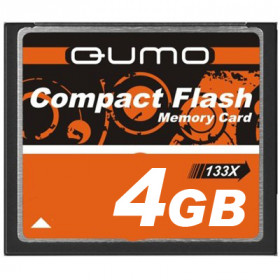 QUMO 4 GB COMPACT FLASH CARD 133X
