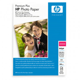 Фотобумага HP Premium Plus Photo C6832A, А4 280 г/м, пачка 20 л.