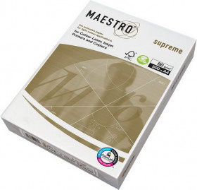 Бумага Maestro Supreme/IQ Selection Smooth, A4, 160 г/м2, пачка 250 листов