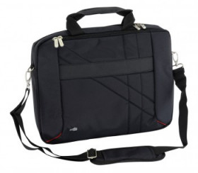 "Сумка PC PET PCP-W6715BK 15.6"" Nylon HQ, Style Toplader, Front compartment, цвет черный"