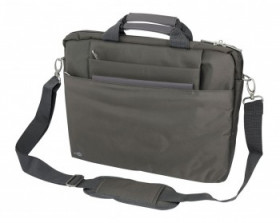 "Сумка PC PET PCP-W6750GR 15.6"" Nylon HQ, Style Toplader, Front compartment, цвет серый"