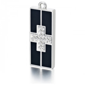 "USB накопитель MY MEMORIA 4GB ""CROSS"" со стразами SWAROVSKI"